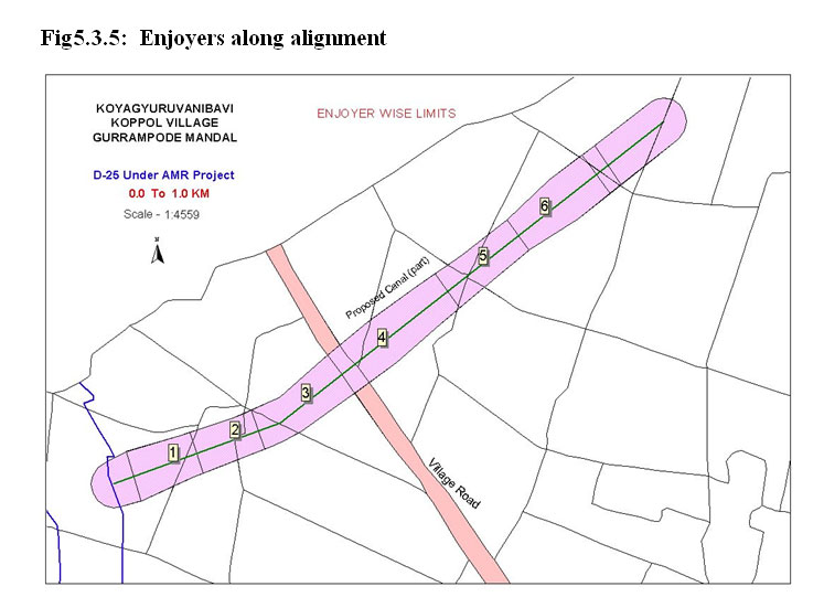 GPS Based Surveying for Mapping of Canal Alignment in GIS
